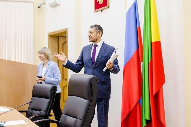 Александр Осипов, врио губернатора Забайкальского края