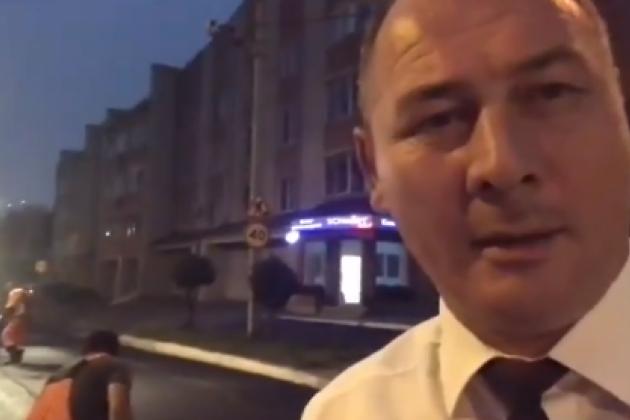 Сапожников благодарит дорожников за ночную укладку асфальта