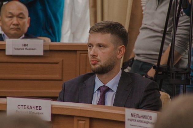 Бывший спикер думы Иркутска Евгений Стекачёв