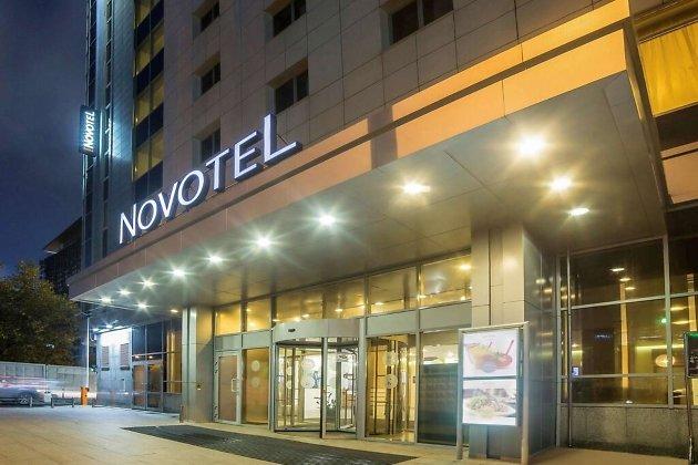 Отель Novotel в Екатеринбурге.