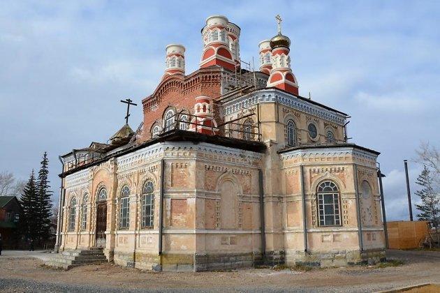 Храм Покрова Божьей Матери в городе Тулуне