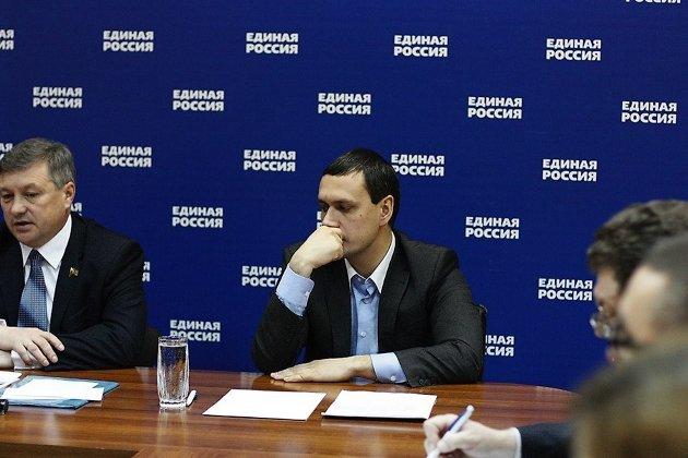 Руководитель администрации губернатора Забайкальского края Дмитрий Кочергин в бытность руководителем исполкома «Единой России»