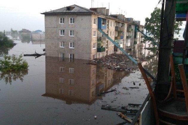 Наводнение в Тулуне