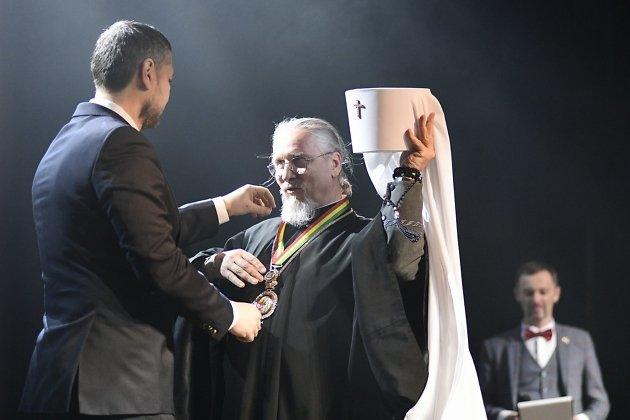 Александр Осипов и митрополит Димитрий