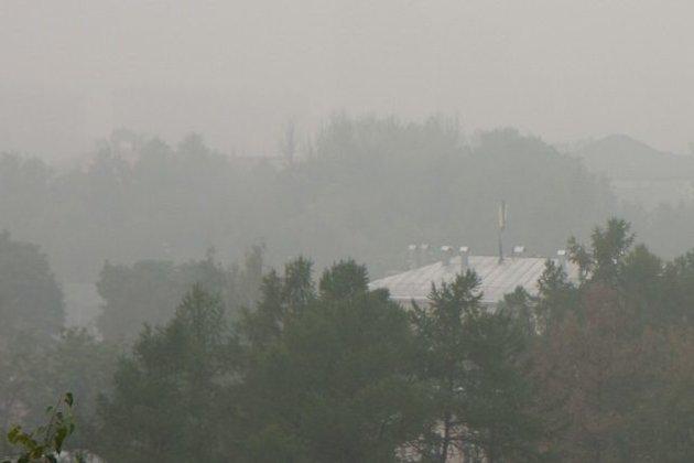 Братск накрыло дымом отлесных пожаров