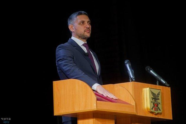 Инаугурация губернатора Забайкальского края Александра Осипова