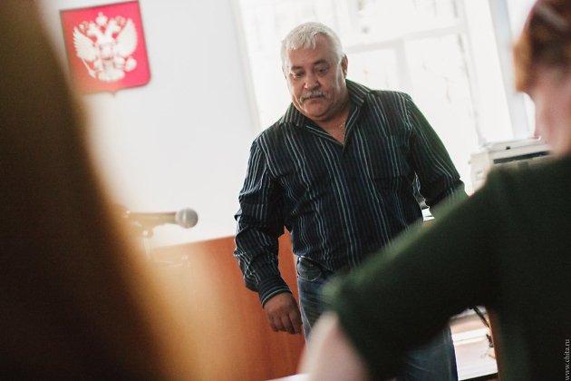 Александр Юрманов в зале суда
