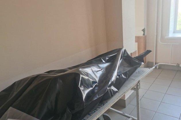 Упакованное тело пациента, скончавшегося от коронавируса