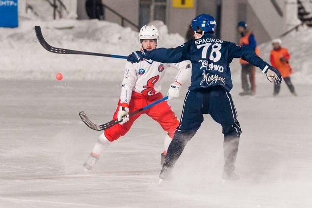 «Сибсельмаш» и«Байкал-Энергия» сыграли вничью вматче чемпионата Российской Федерации побенди