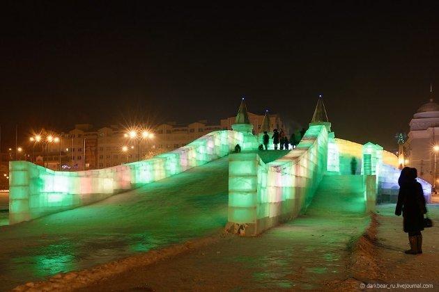 Ледовый городок 2013