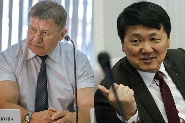Виктор Шереметьев (слева) и Юрий Кон