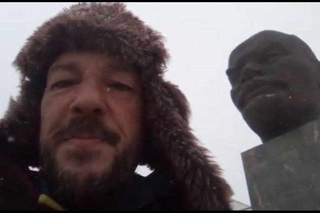 Испанский путешественник Хосе Пахарес в Улан-Удэ
