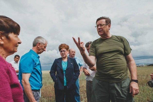 Министр сельского хозяйства Забайкальского края Михаил Кузьминов