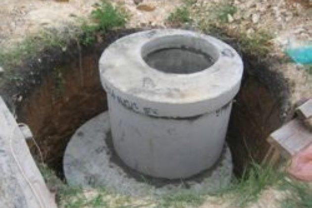Септик из бетонных колец