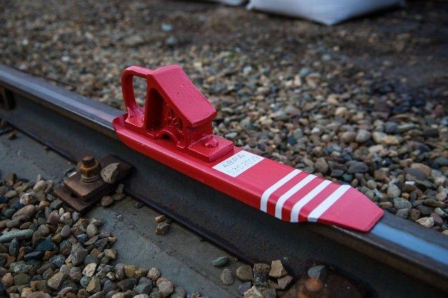 Железнодорожный тормозной башмак