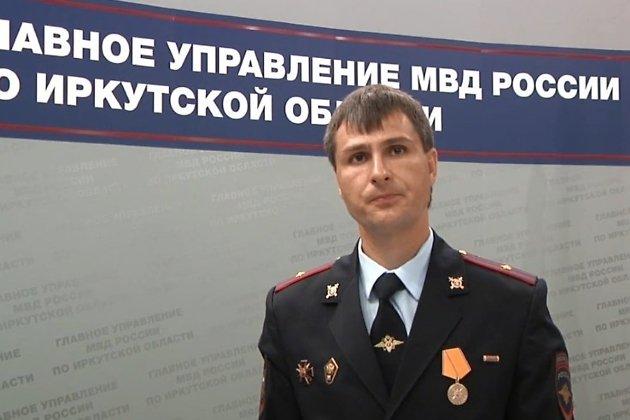 Майор полиции Андрей Чудинов