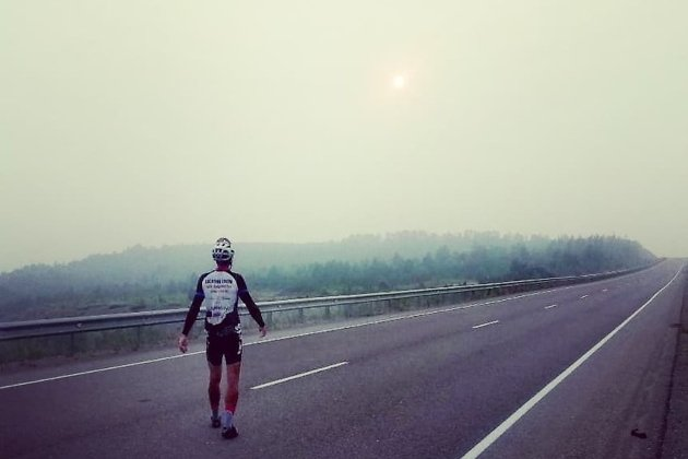 Велосипедист Зубов смог доехать из Читы до Владивостока за 10 дней
