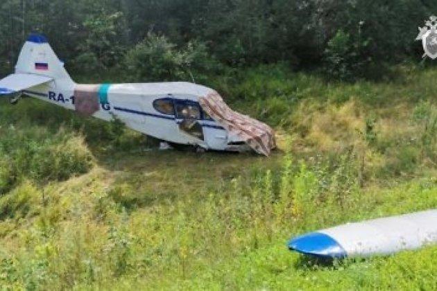 Легкомоторный самолёт летел в Читу и экстренн приземлился на трасу в Амурской области
