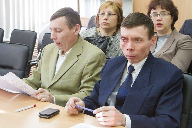 Братья Николай (слева) и Анатолий Лихановы