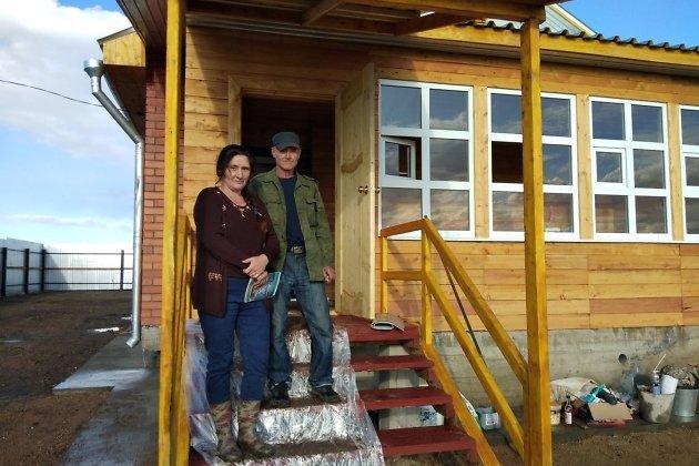 Новосёлы в селе Горда Приаргунского района