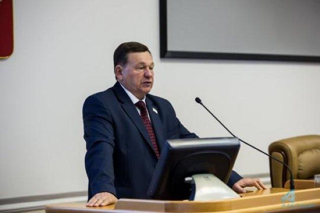 Глава комитета по госстроительству заксобрания Иркутской области Борис Алексеев