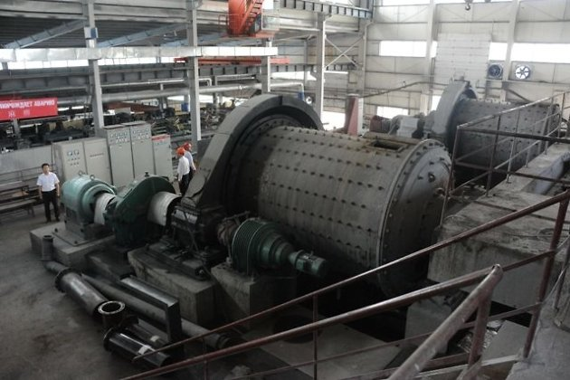 обогатительная фабрика на Нойон-Тологойском месторождении