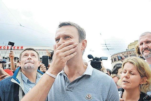 Руководитель штаба Навального вИркутске объявил обизбиении сына предоставившего помещение предпринимателя