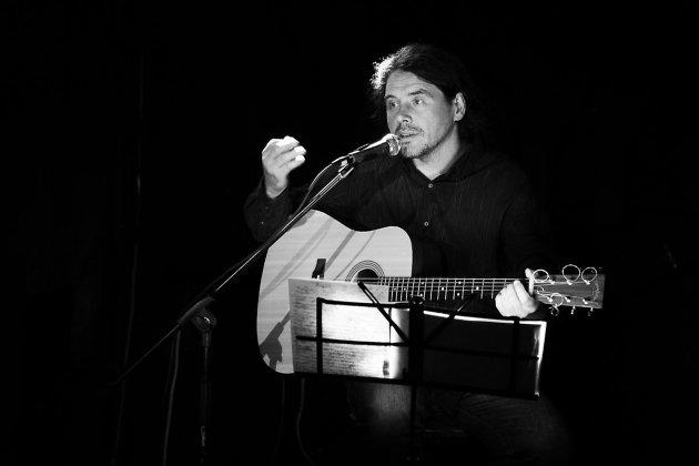 Дмитрий Ревякин на концерте в Чите