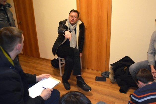 Фото задержания министра с/х Кузьминова