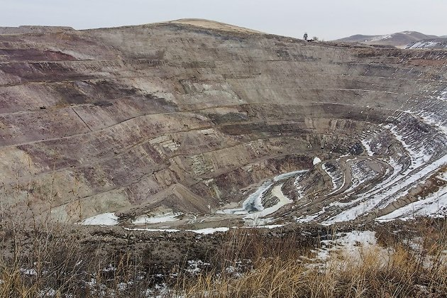 Место добычи первого урана Краснокаменска