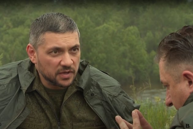 Александр Осипов во время интеввью Владимиру Кантемиру
