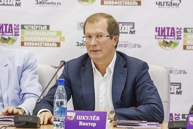 Виктор Шкулёв на фестивале в Чите