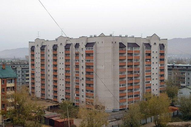 Недостройнный дом №33 в 1-м мкр