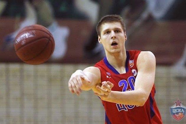 Дмитрий Коршаков в составе ЦСКА
