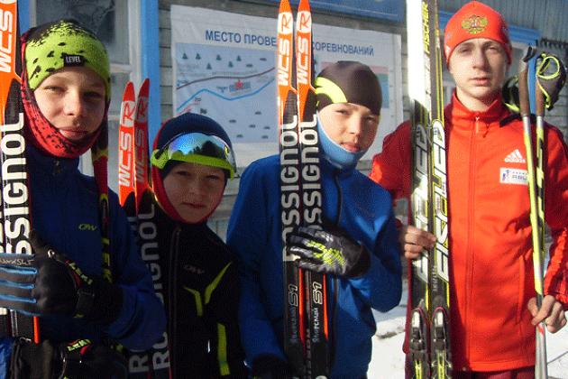 Лыжная база в Хилке