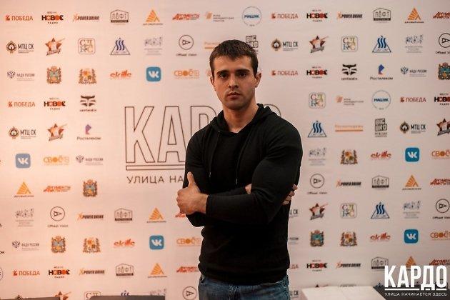 Президент федерации воркаута Николай Гончаренко