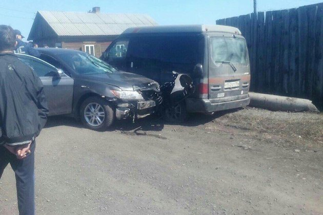Под Иркутском шофёр сбил насмерть девочку и исчез сместа ДТП