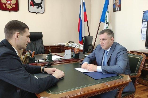 Встреча Игоря Кобзева и Константина Зайцева 13 марта