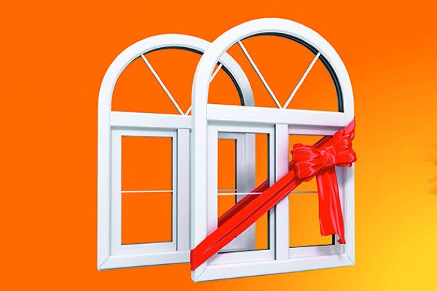 Пластиковые окна 2 окна третье в подарок 88