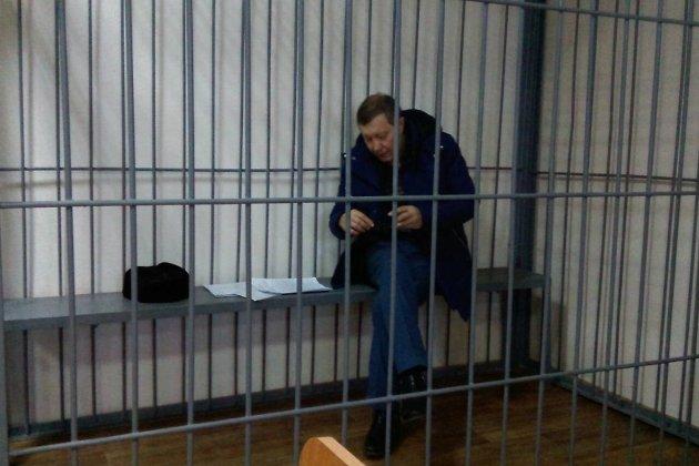 Михаил Лазуткин на заседании суда в Чите