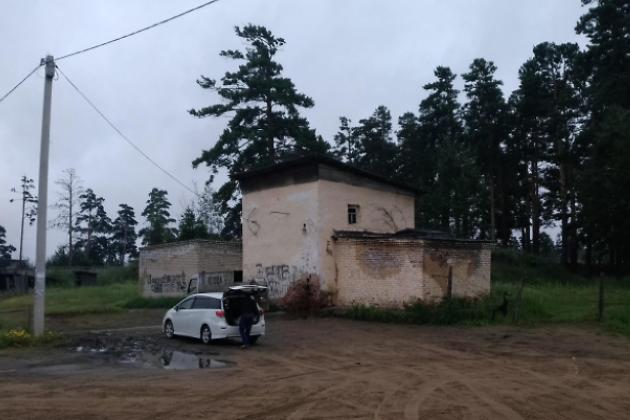 Водокачка в Осетровке, 2018 год