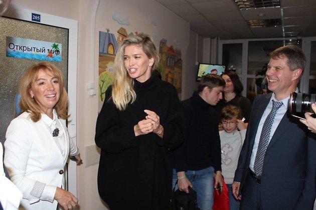 Вера Брежнева и министр здравоохранения Иркутской области