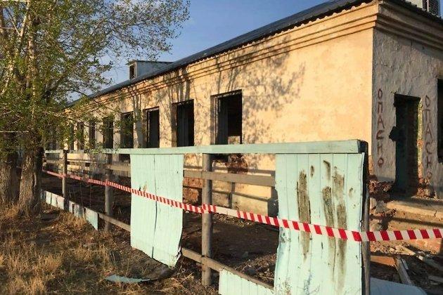 Здание, где произошёл обвал