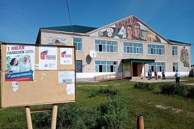 Клуб в селе Новоцурухайтуй