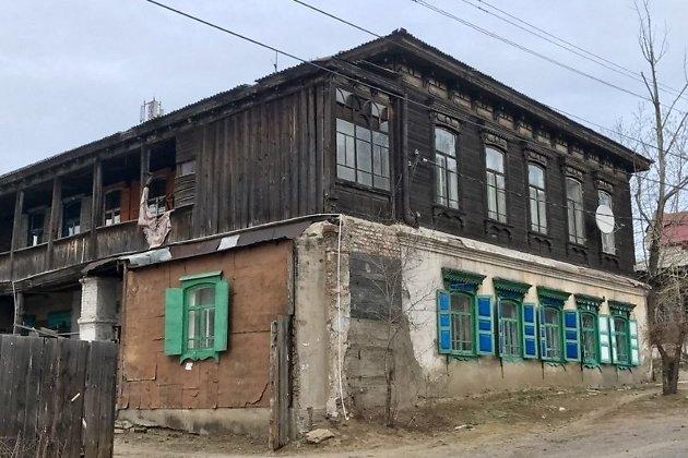 Дом Терентьевой на улице Ингодинской