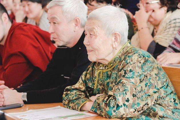 Алданова Цырыгма Галдановна, старейшая участница