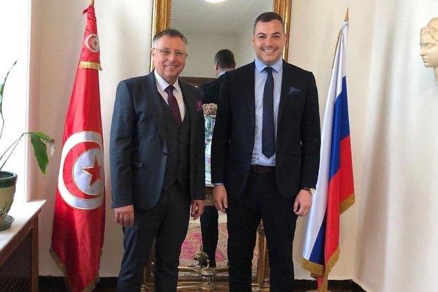 Пётр Попов и Тарак Бен Салем