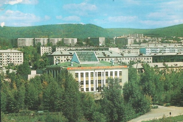 Библиотека им. Пушкина в 80-е годы