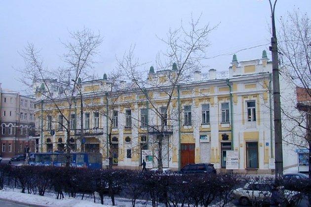 Старое здание ТЮЗа на Ленина, 13
