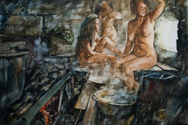 Рассказ у деда в бане фото 470-169